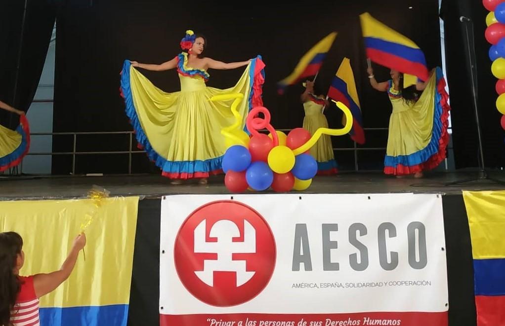 grupo de baile alma latina