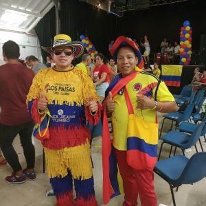 público fiesta colombia