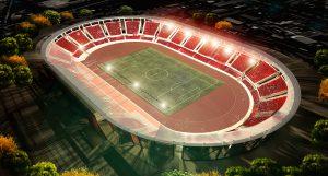 """Estadio """"La portada"""" en La Serena"""
