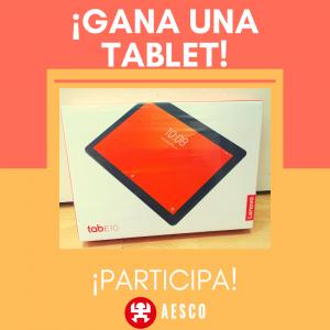 Sorteo tablet