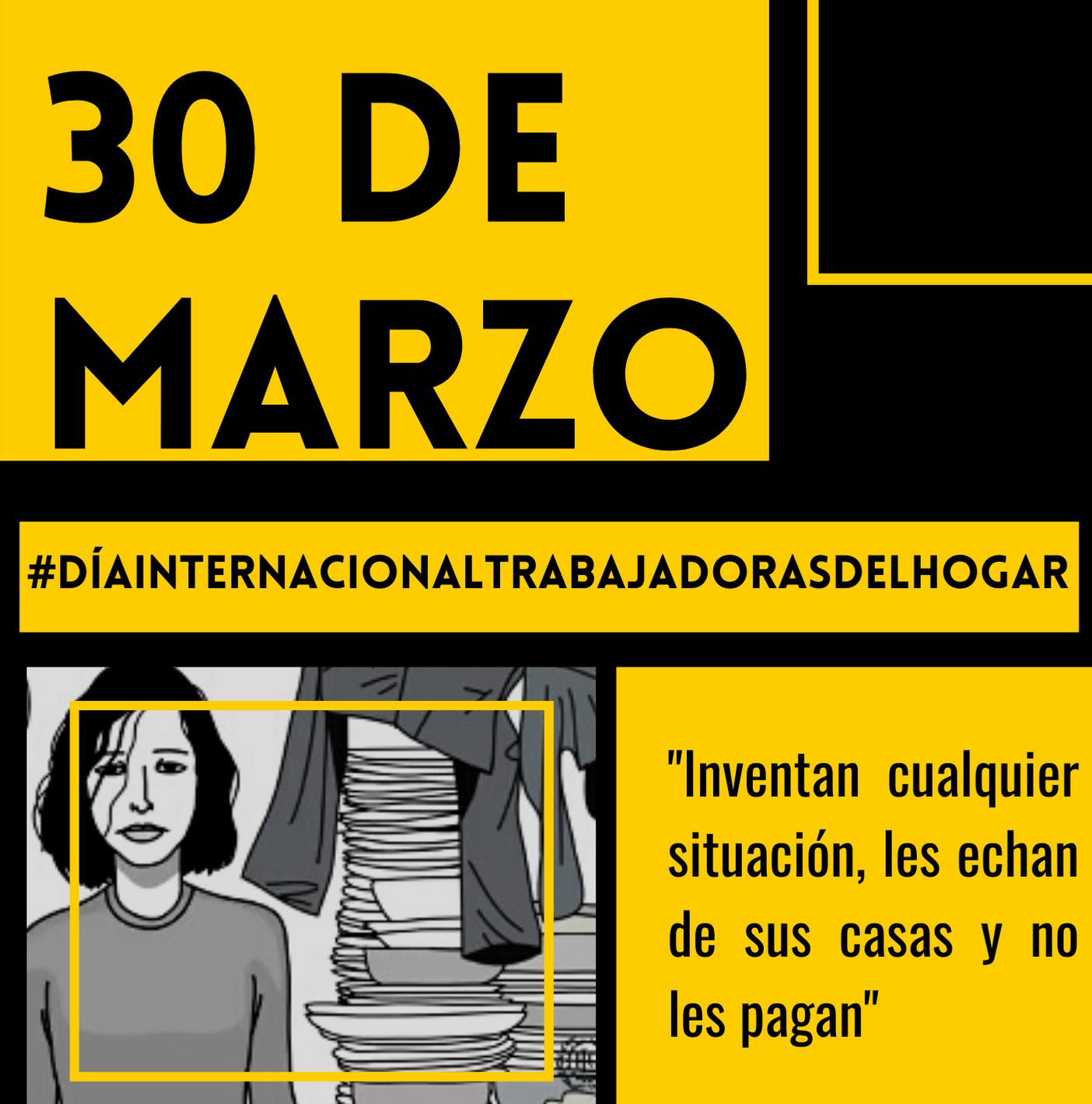 Día internacional de trabajadoras del hogar